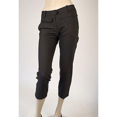 Development Slim Cropped Womens Pants Black Size 4