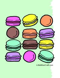 Resultado de imagem para macarons drawing