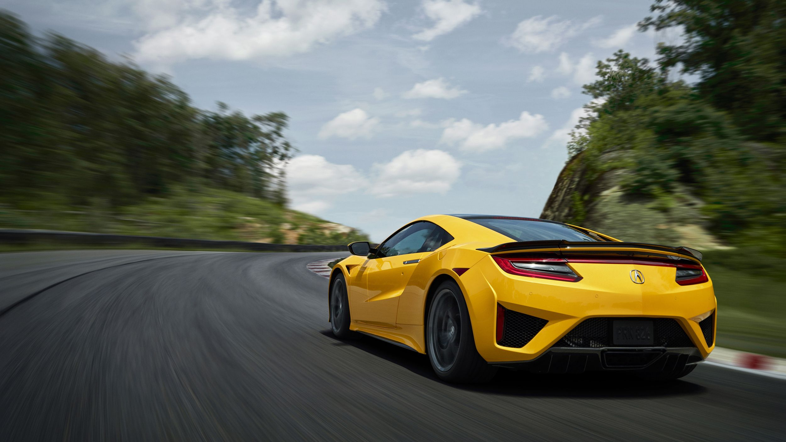 2020 Acura NSX Indy Yellow Pearl Acura nsx, Nsx, Cool
