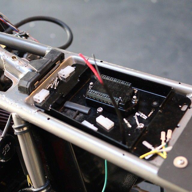 Under Seat Setup Cafe Racer Parts Cafe Racer Cb400 Cafe Racer
