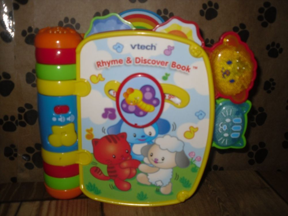 Vtech Rhyme And Discover Book Childrens Nursery Rhymes Songs Nursery Rhymes Songs Rhymes Songs Rhymes