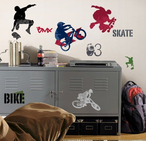 Roommates Wallstickers - Extreme Sports (RMK1690SCS) /Legetøj cover