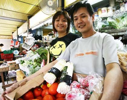 Where to buy celeriac, white asparagus, yellow zucchini