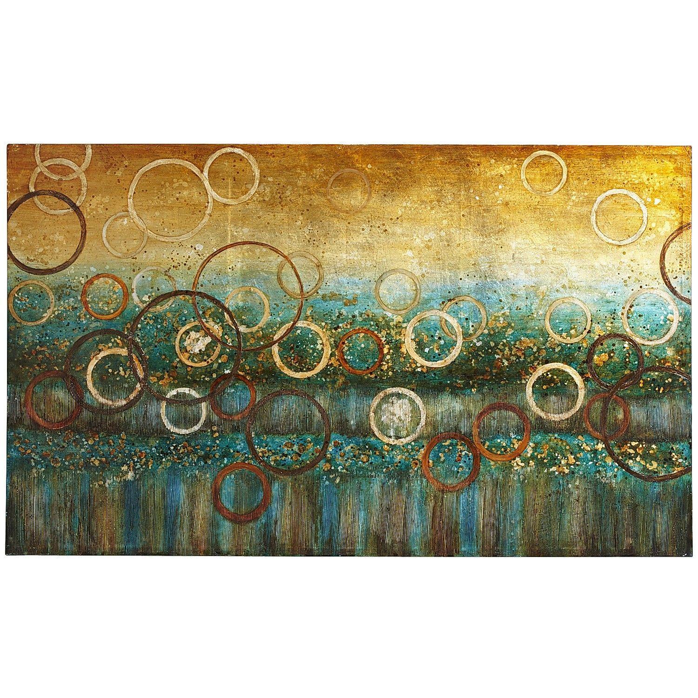 Azure Rings Art Pier 1 Imports 199.00 Nature canvas