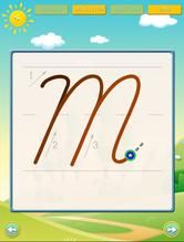 ABC Cursive Writing Free Lite - This app was a request from a teacher who uses tracing apps in her class and wanted something to demonstrate the proper strokes to her whole class with large letters.  - Cursive stroke guidance animations - show proper strokes of each letter  $0 FREEBIE