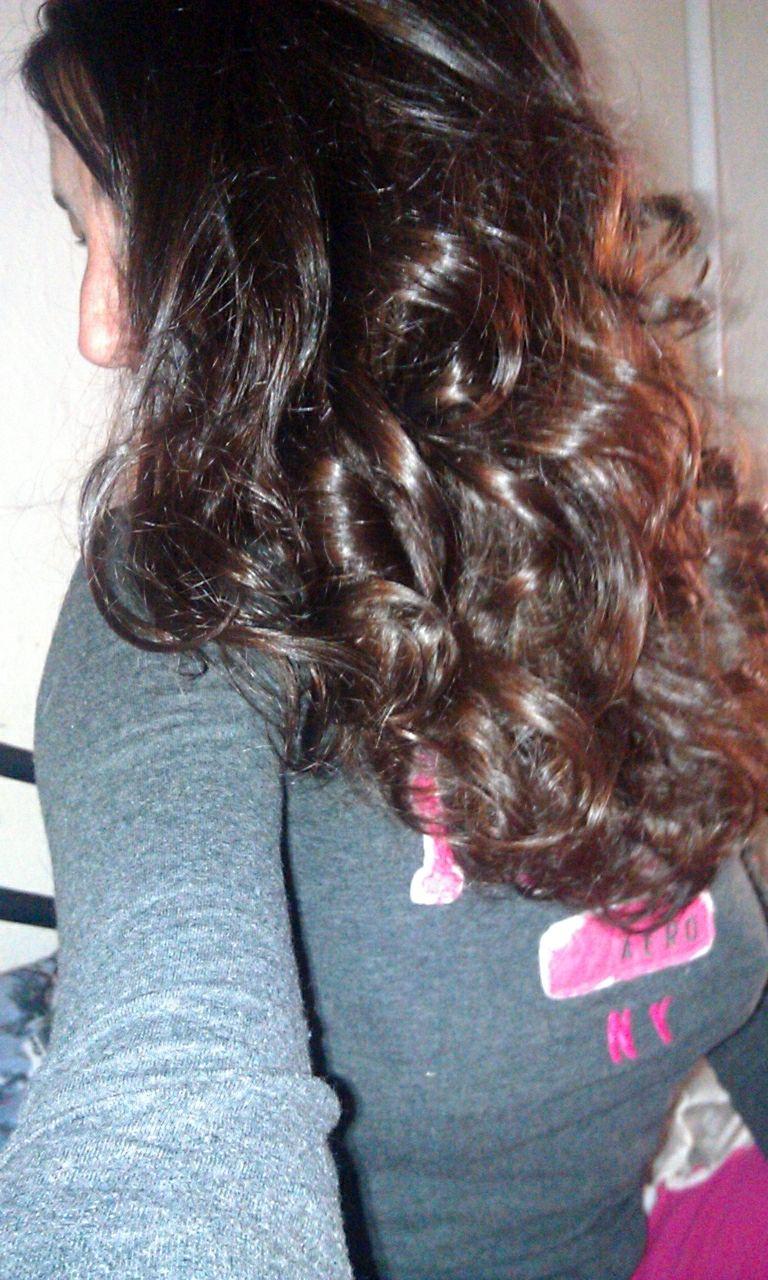 My result from sock curls! #sockcurls