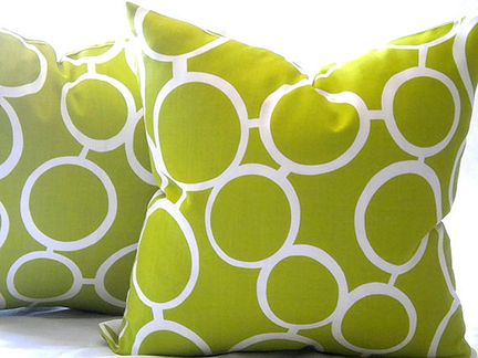 Lime Green Outdoor Cushions Modern Outdoor Pillows Outdoor