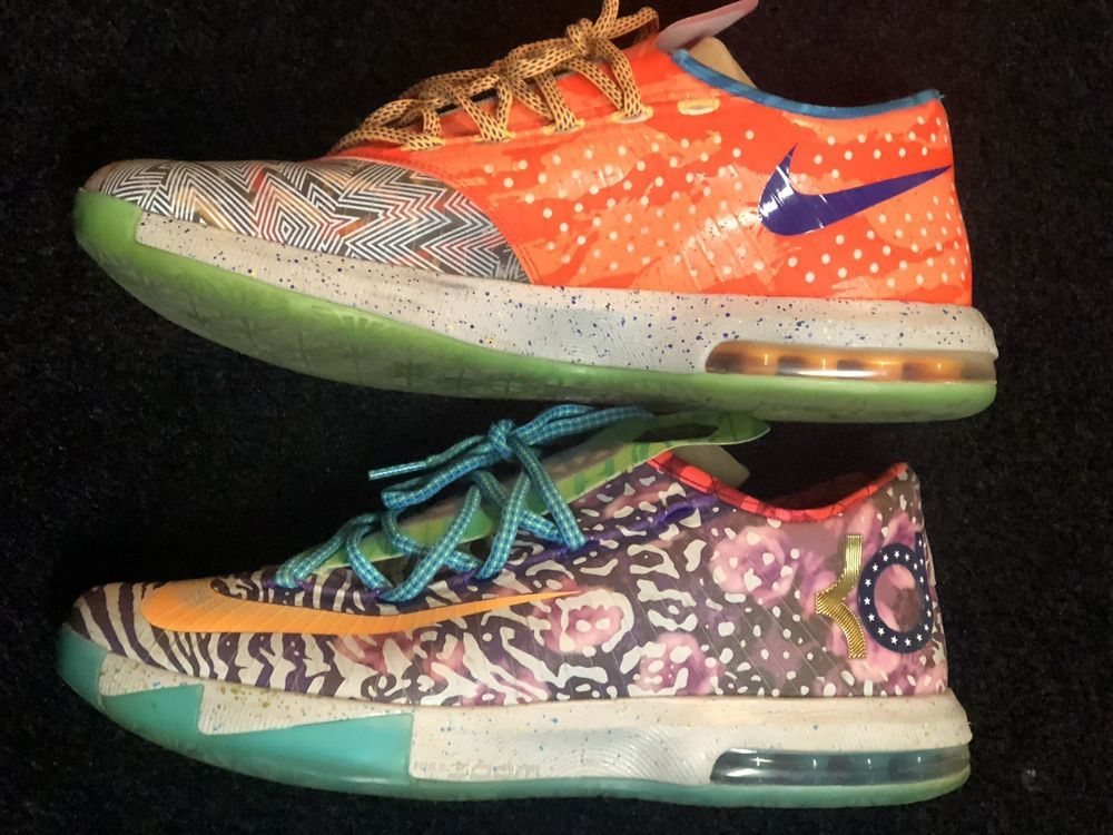 e07bc7a5c83 Nike KD VI 6 WHAT THE SIZE 11 MENS Kevin Durant Used  fashion  clothing   shoes  accessories  mensshoes  athleticshoes (ebay link)