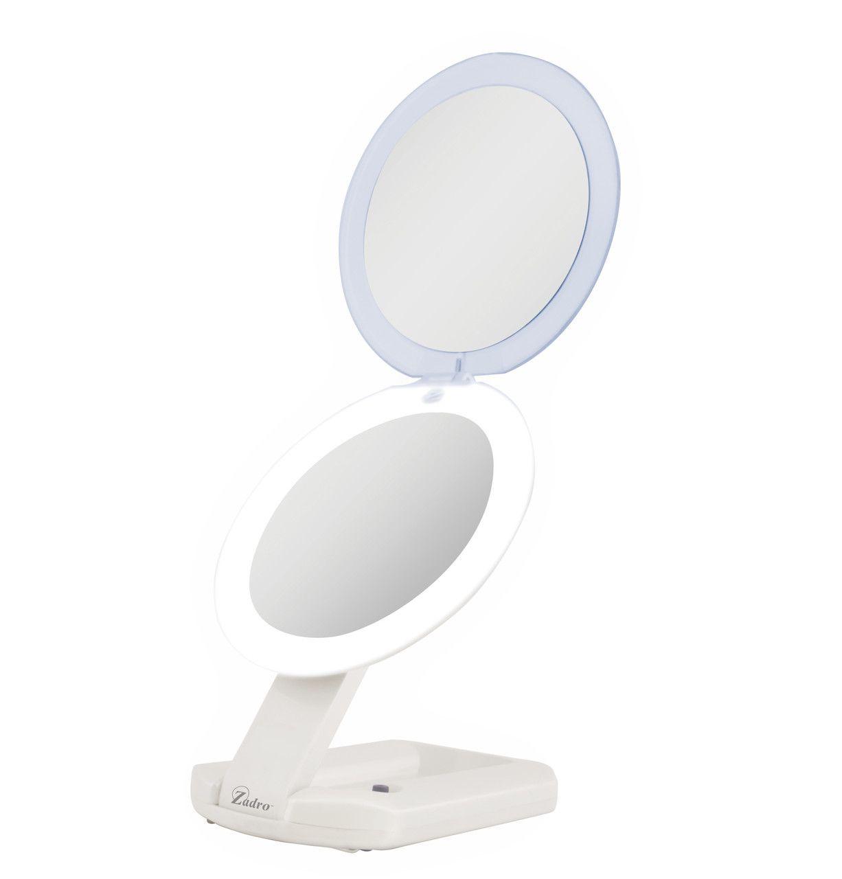 Led Lighted Ultimate Makeup Mirror 10x 1x Makeup Mirror