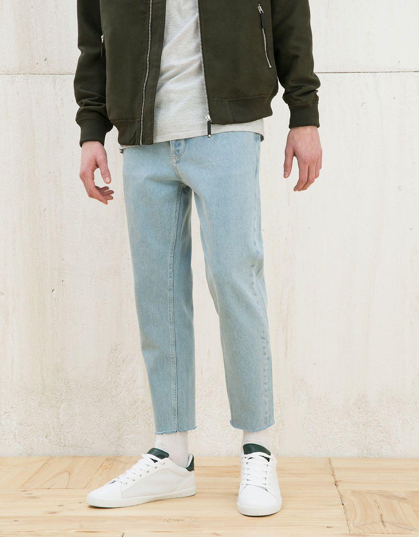 mitä eroa on laiha ja suora jalka farkkujen välillä?
