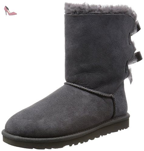 Homme Ugg Taille Grey Bailey Chaussures Bow Wxs0zqwiy 37 Gris RnEnCq1xpg