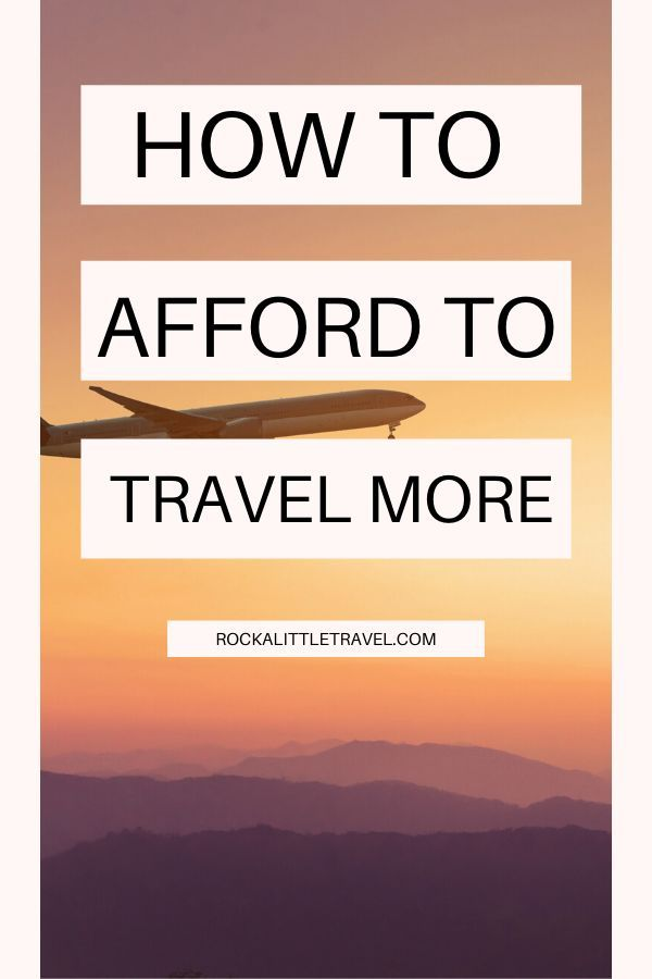 This advice about how to afford to travel more is based on my own experiences and priorities. So use this post to get some ideas, then come up with your own plan.  How to Afford to Travel More #affordabletravel #budgettravel #travelhacks