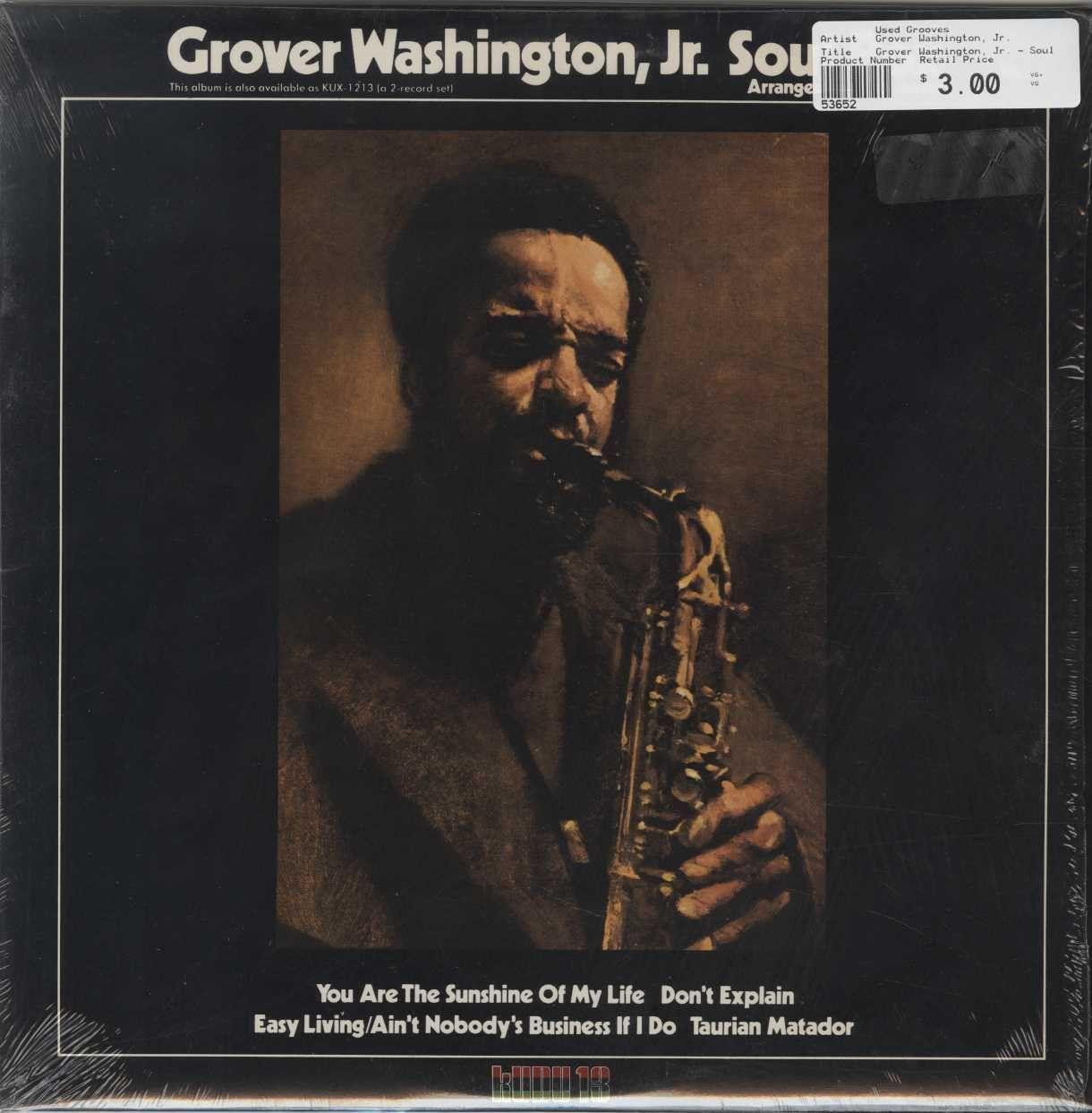 Grover Washington Jr Soul Box Vol 2 Grover Washington Music Albums Fictional Characters