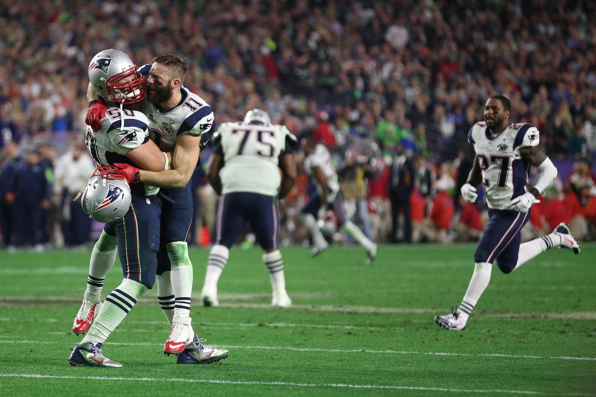 One Yard From Crushing Loss Patriots Grab Their 4th Title New England Patriots Super Bowl Patriots