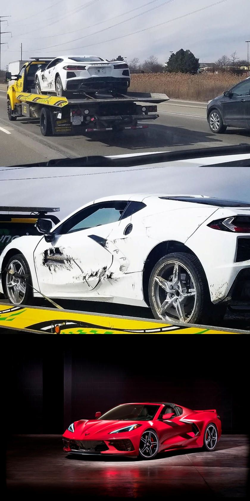 This C8 Corvette Has Seen Better Days And We Need Answers This Isn T The First C8 To Crash And It Certainly Won T Be The Last In 2020 Corvette Car Crash Better