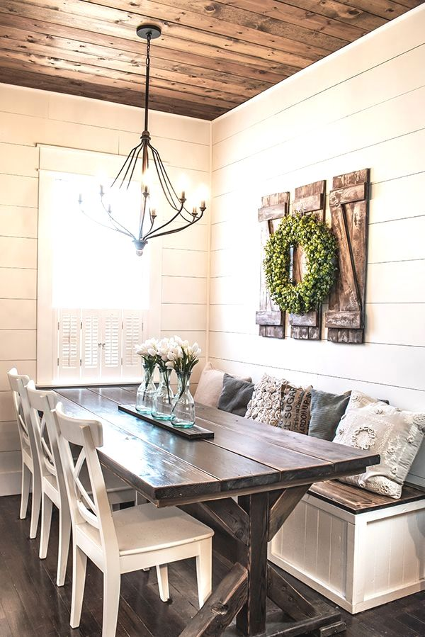 Farmhouse dining room table image by Stacey williamson on ...