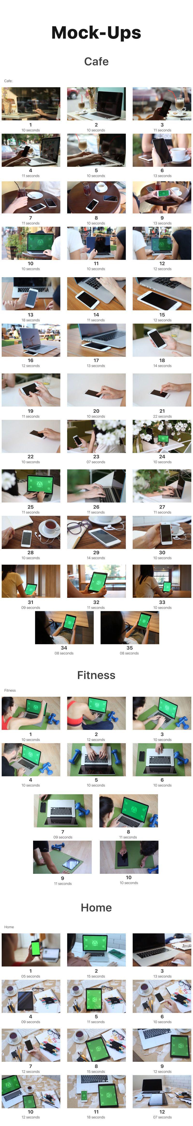 Biggest MockUp Kit // Digital Device Mockups • After
