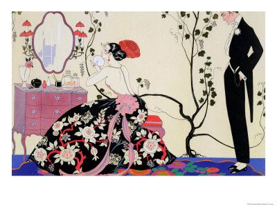 The Backless Dress   Georges Barbier