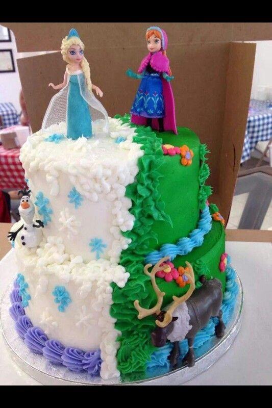 Frozen Cake Ideas Pinterest Cake