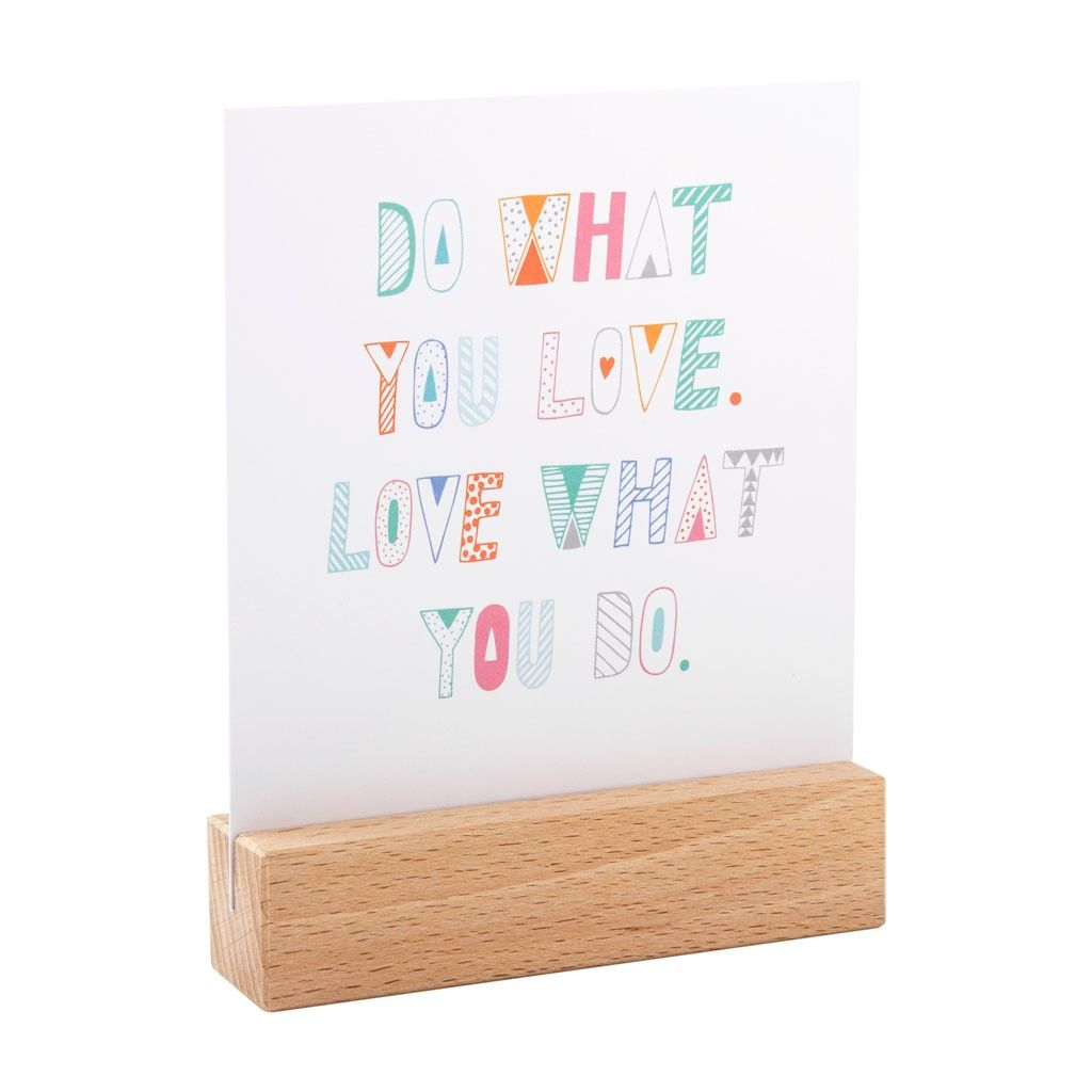 QUOTE CARDS: INSPIRATION From Kikki K Wooden Stand And Cards. Could Put Our  Designs Around The Stand.
