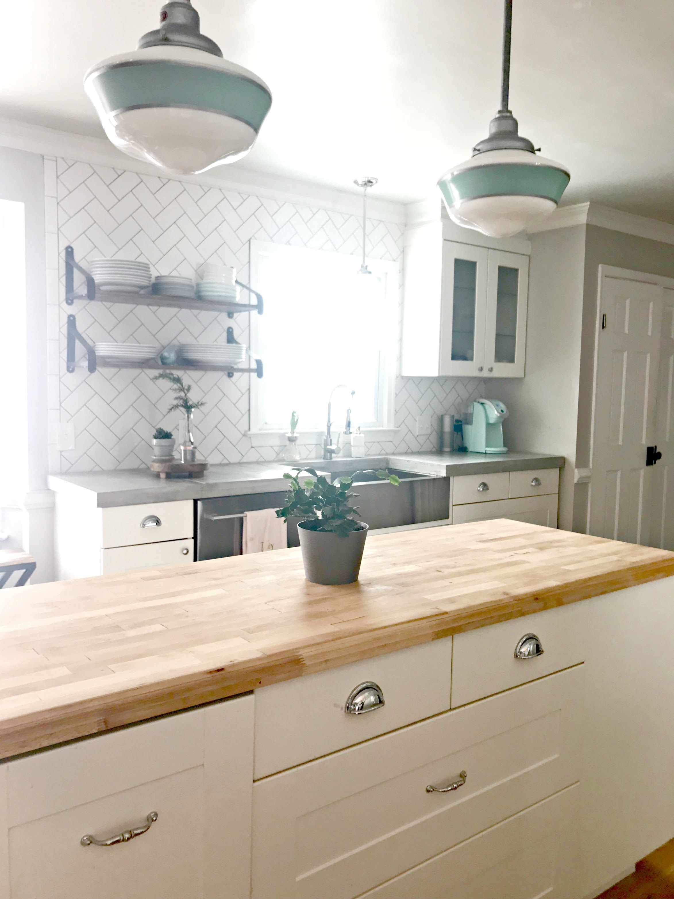 Concrete Countertops and more kitchen updates   Simply Swider Blog ...