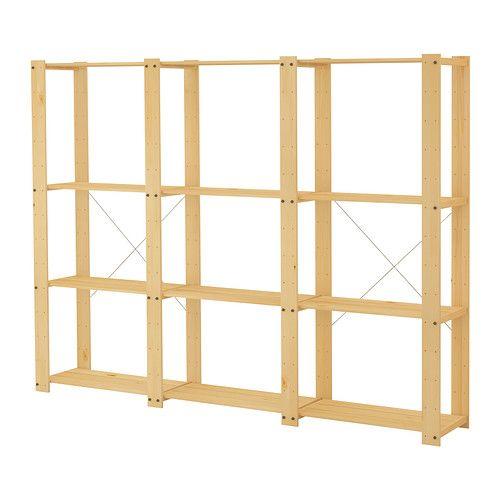 1000  images about Storage Ideas on Pinterest   Garage shelf  Corner shelving unit and Solid pine. 1000  images about Storage Ideas on Pinterest   Garage shelf