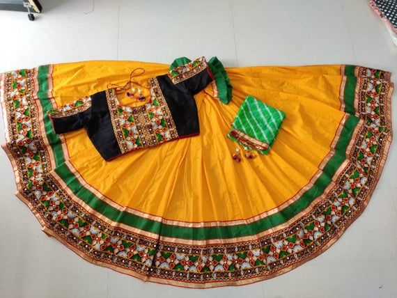 Items similar to Designer Ready to Wear Women's Flair Stitched Skirt Lehanga Navratri Chaniya Choli Blouse Wedding Party Wear For Girls Dupatta on Etsy #chaniyacholi