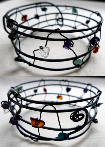 birthstone bracelet and pendant, so much fun to create