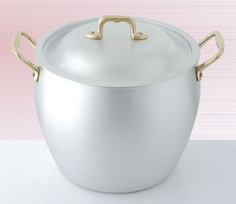 1513- pentola bombata/curved stock pot cm 18-20-24 1538- coperchio bombato/curved lid