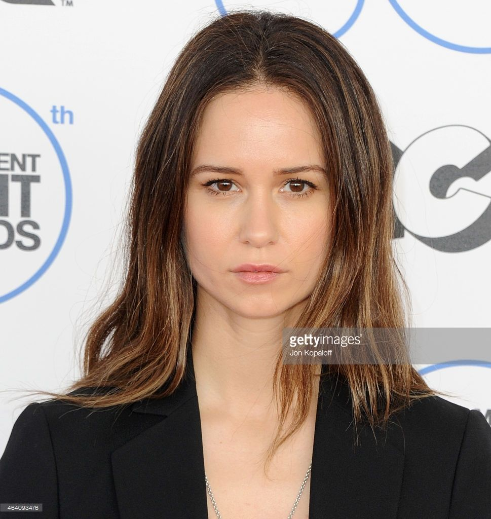 Actress Katherine Waterston attends the 2015 Film Independent Spirit Awards on (February 21, 2015) in Santa Monica, California.