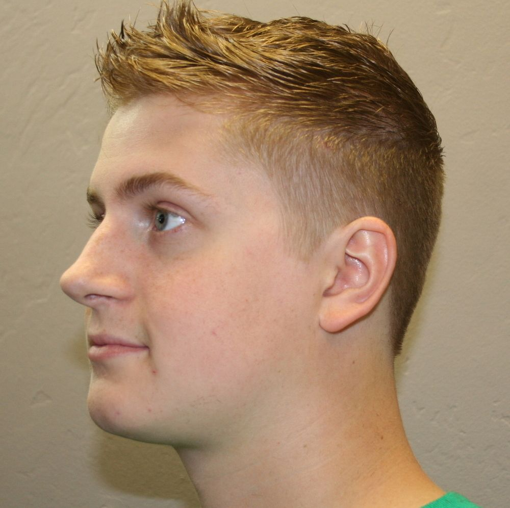 mens services and boys - haircuts - fades - faux hawk - hair