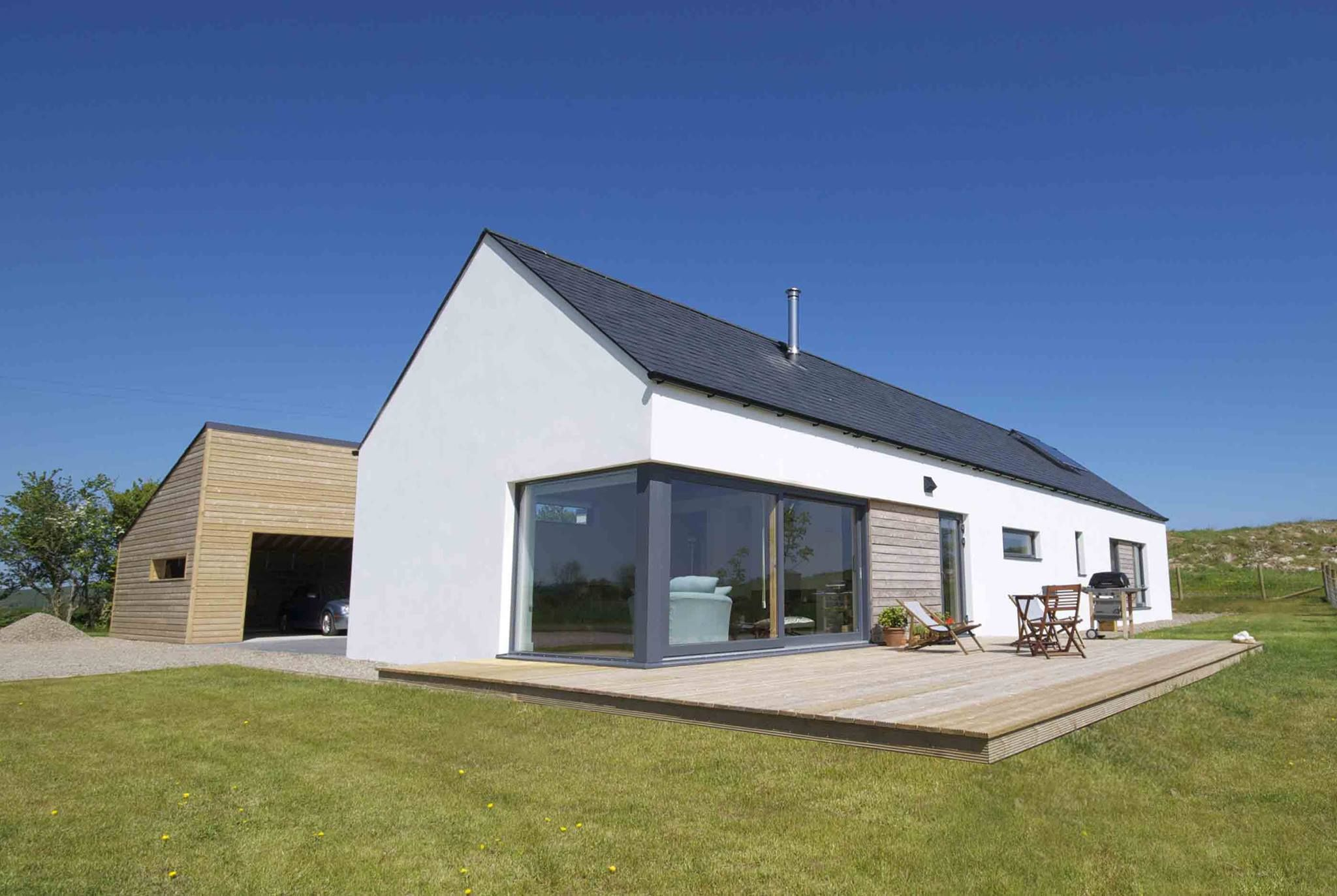 Brittas bay wicklow irish uk rural house designs for Modern barn homes