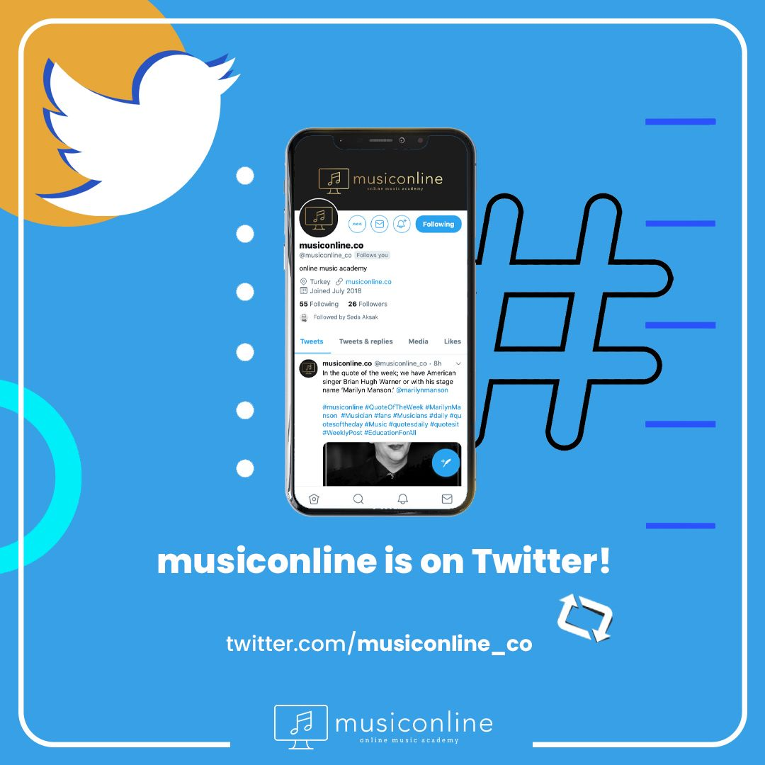 With updated news, videos and blog posts about music, musiconline is on Twitter! Don't forget to follow!✌  #musiconline #onlinemusic #Twitter #socialist #tweets #SocialMediaNews #TwitterPosts #twitter🐦 #PianoLessons #ViolinLessons #TwitterQuotes #MusicLesson #MusicEducation #TwitterMemes #MusicLessons #MusicAcademy