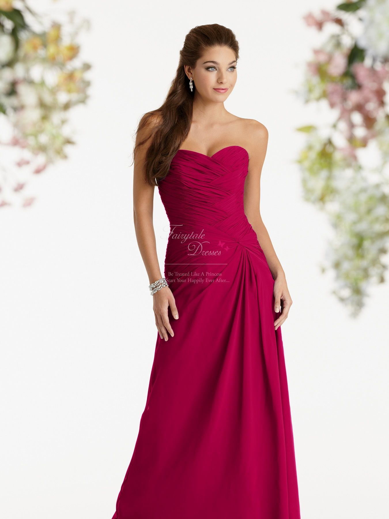Not this color.... But this style bridemaid dress is