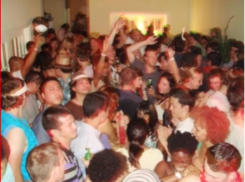 College Dorm Party
