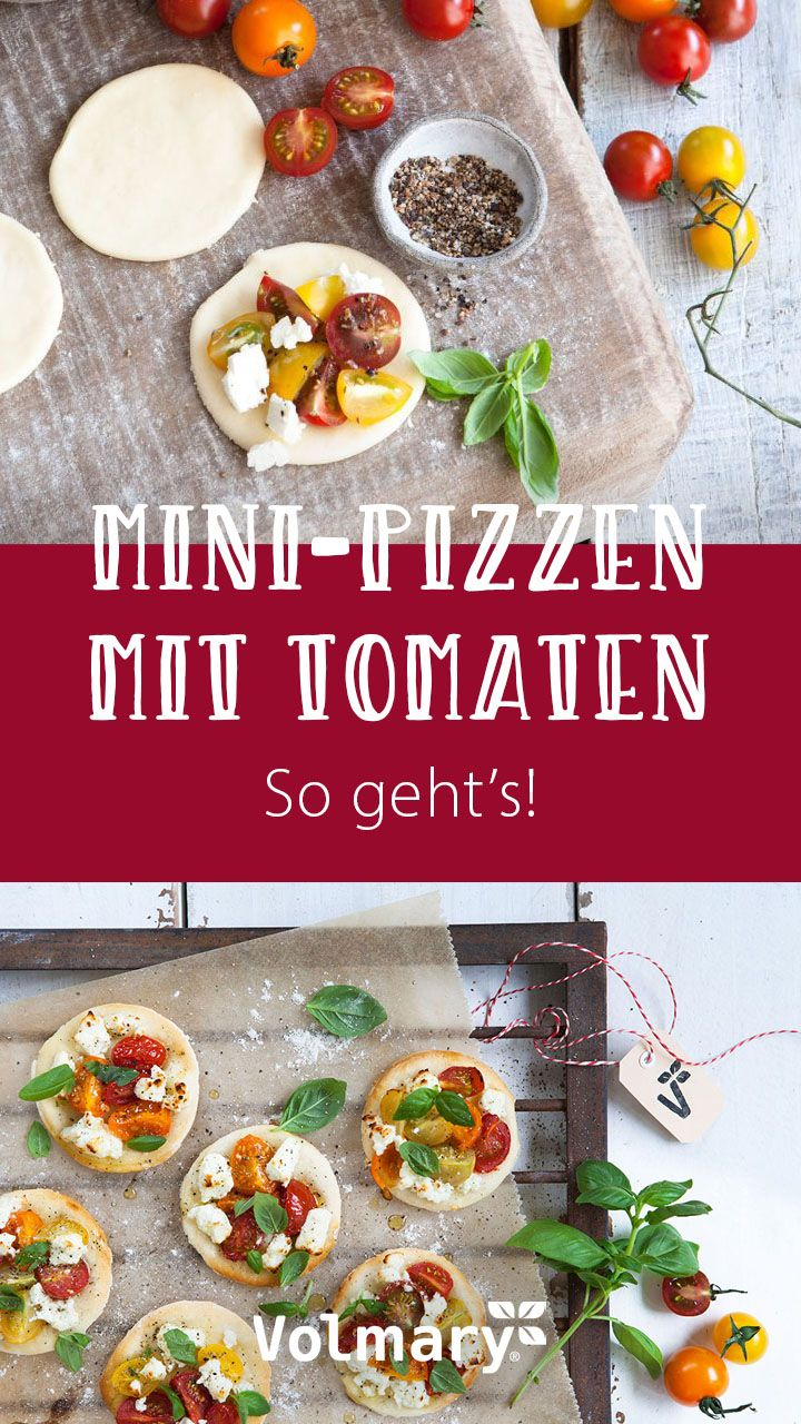 Rezept für Mini-Pizzen