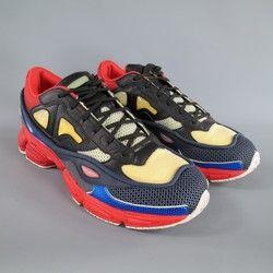 f5d86c3f86bc5 RAF SIMONS X ADIDAS Size 12 Multi-Color Nylon OZWEEGO 2 Sneakers ...