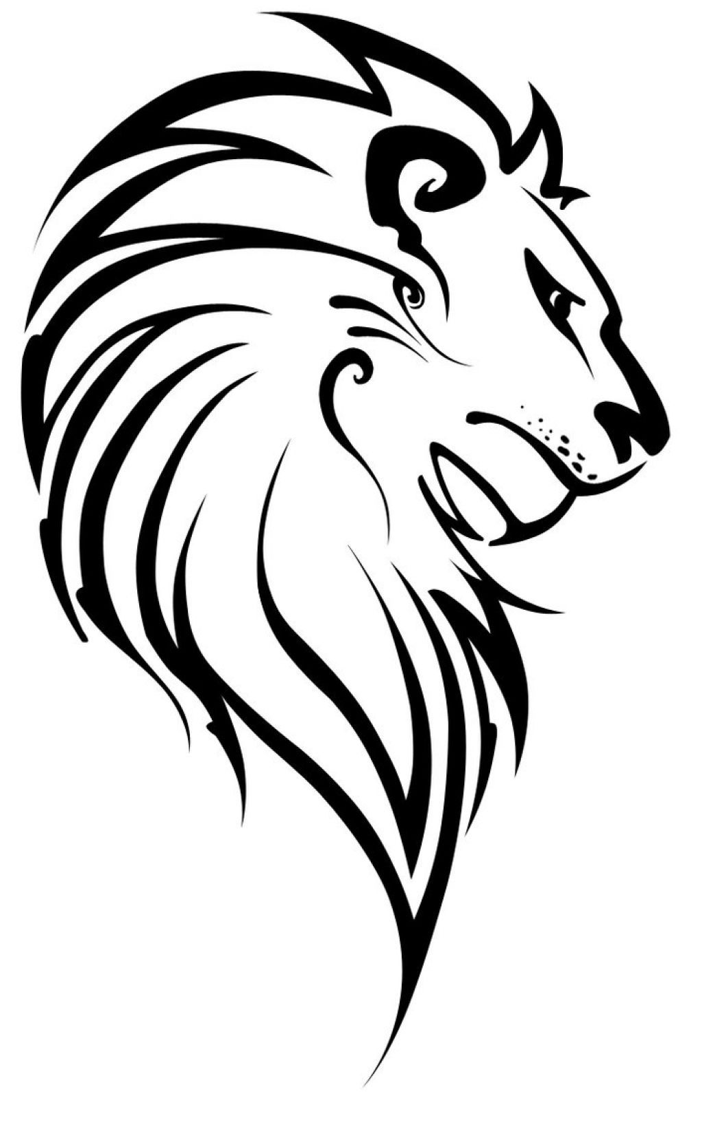 Roaring Lion Side Tattoo