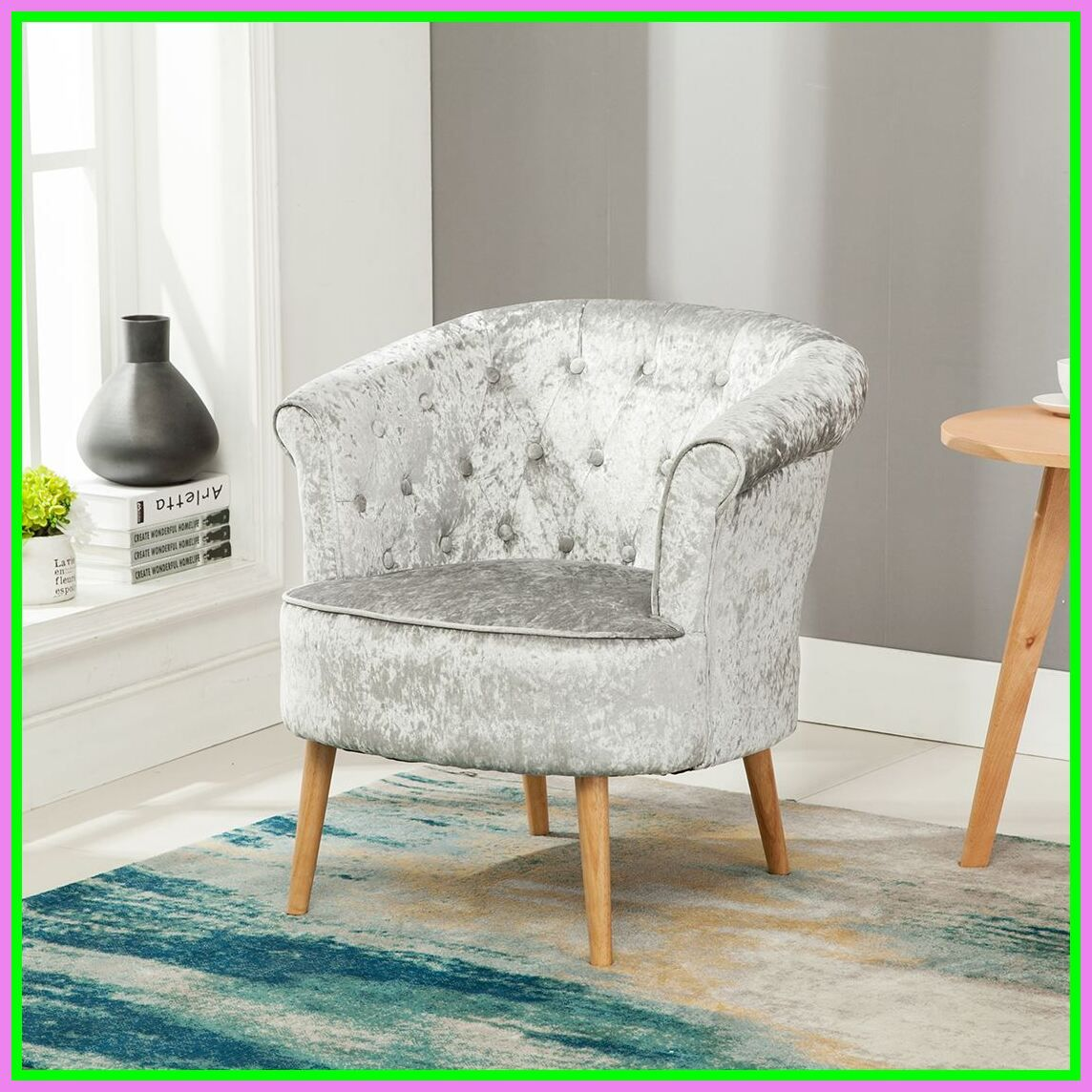 10 reference of crushed velvet chair bedroom in 10  Velvet