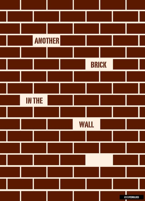 Another Brick In The Wall Pink Floyd Lyrics Brick In The Wall