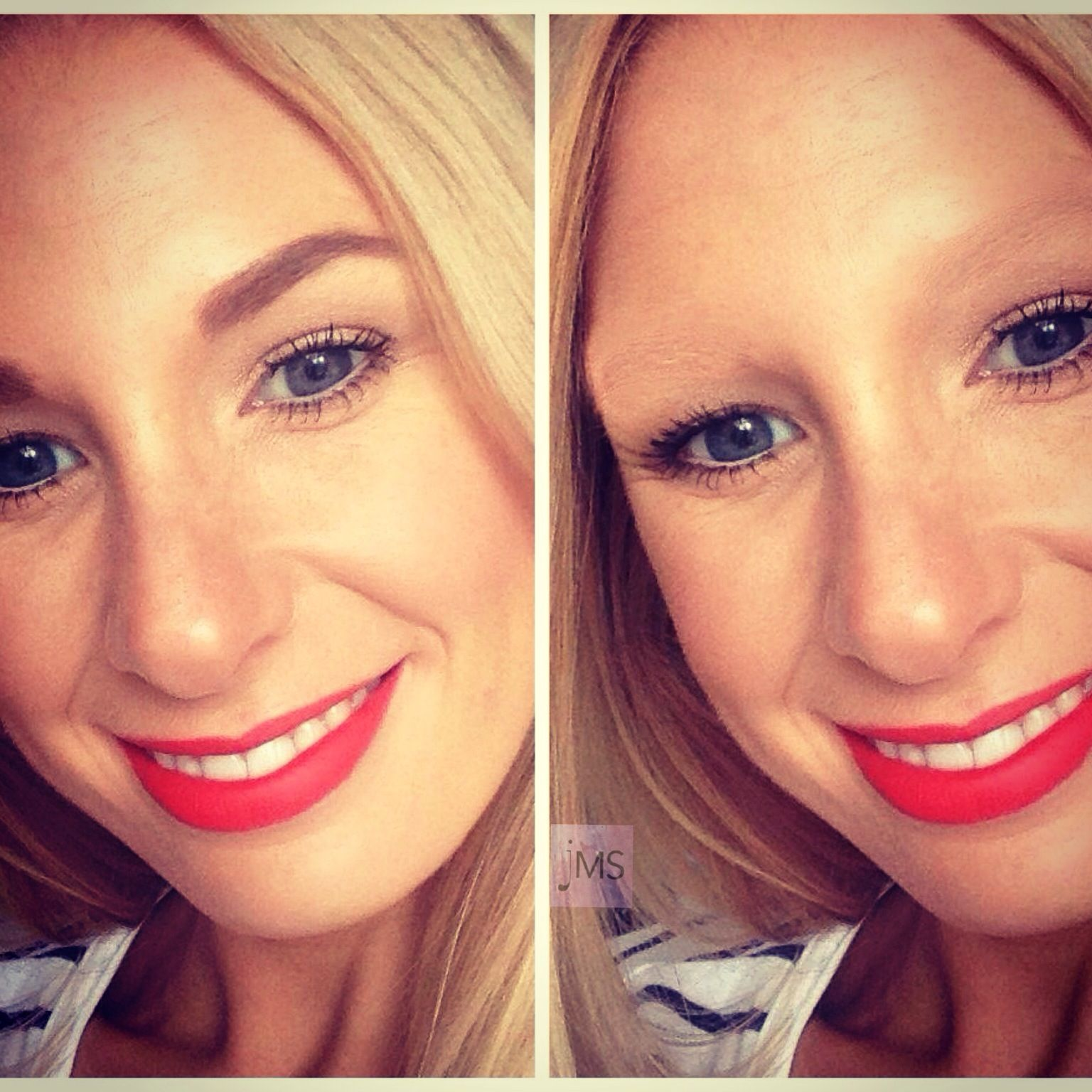 Spot the difference? Eye brows are so important and should ...