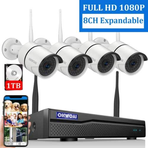 Top 9 Best Outdoor Wireless Security Camera Systems With Dvr Of All Time P Wireless Security Camera System Home Security Camera Systems Video Security System