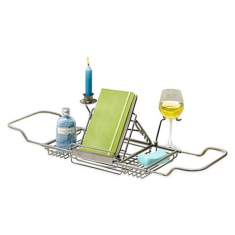 Buy Satin Nickel Bathtub Caddy From Bed Bath Amp Beyond With
