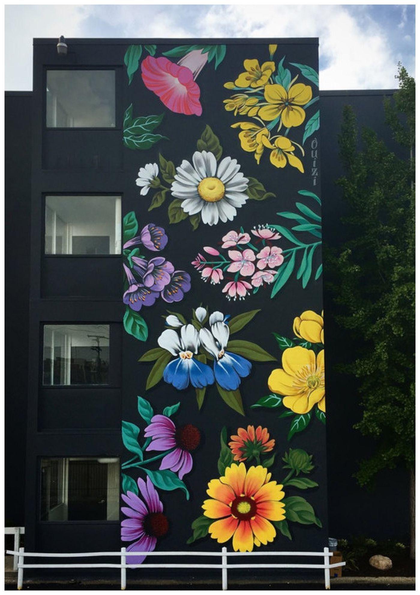 28+ Flower Mural