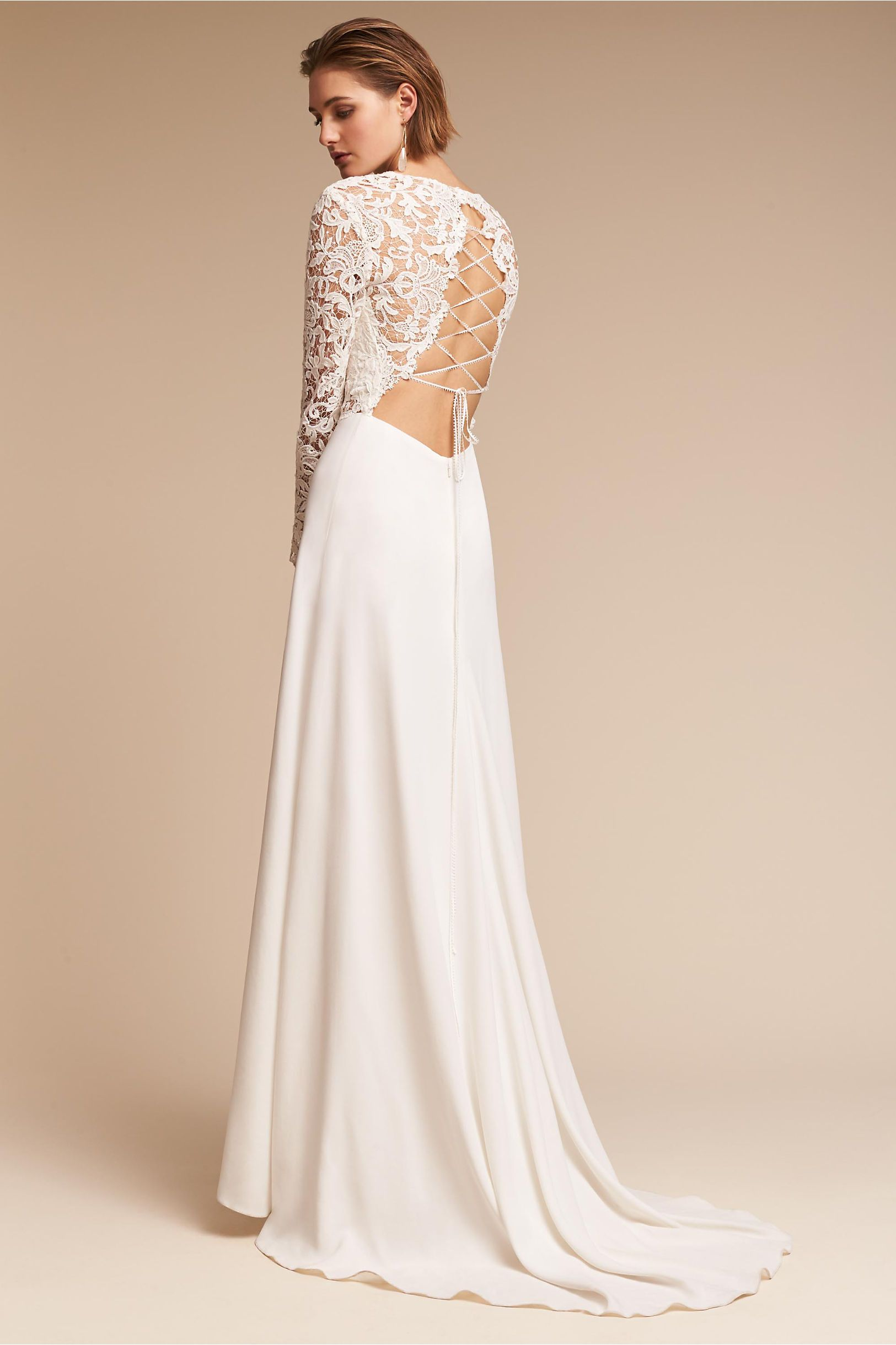 Bhldn S Forsyth Gown In Ivory