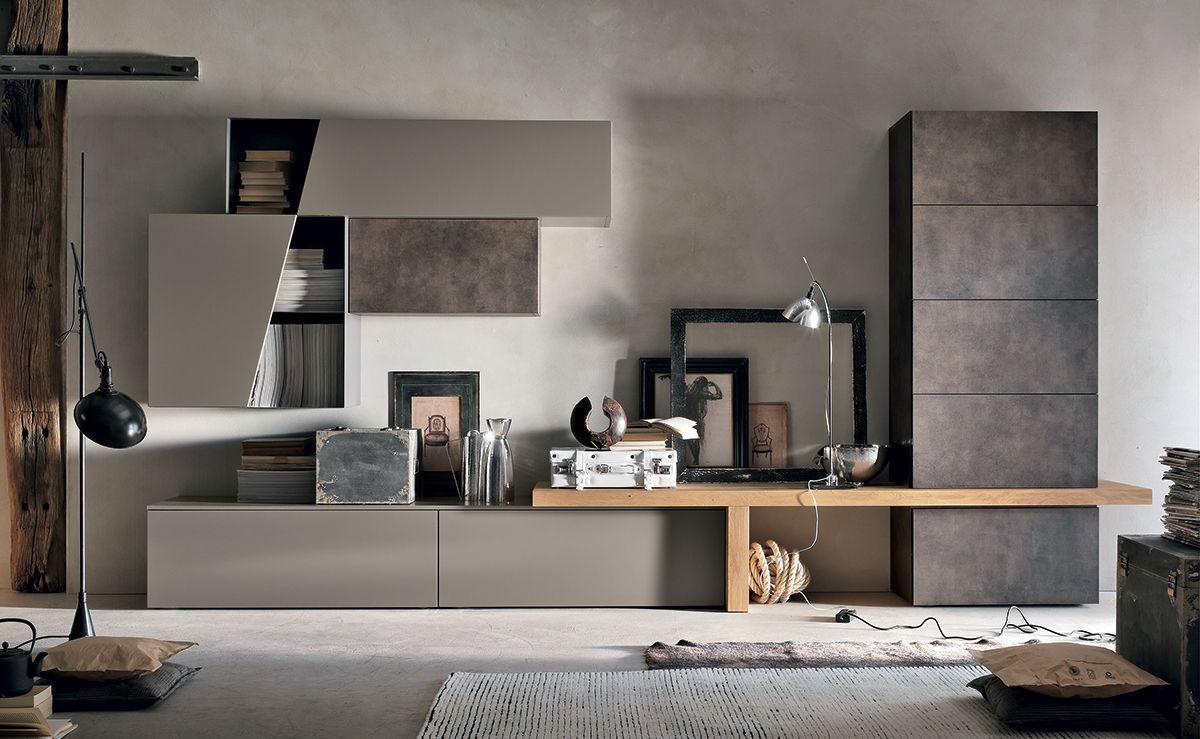 Мебель для гостиной модульные системы - Tomasella C138. | interior ...