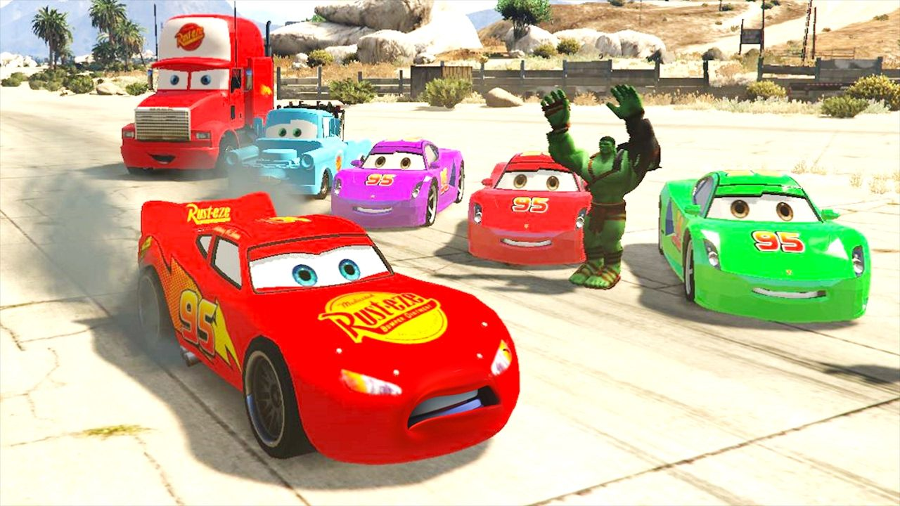 cars 2 party lightning mcqueen and friends spiderman disney pixar