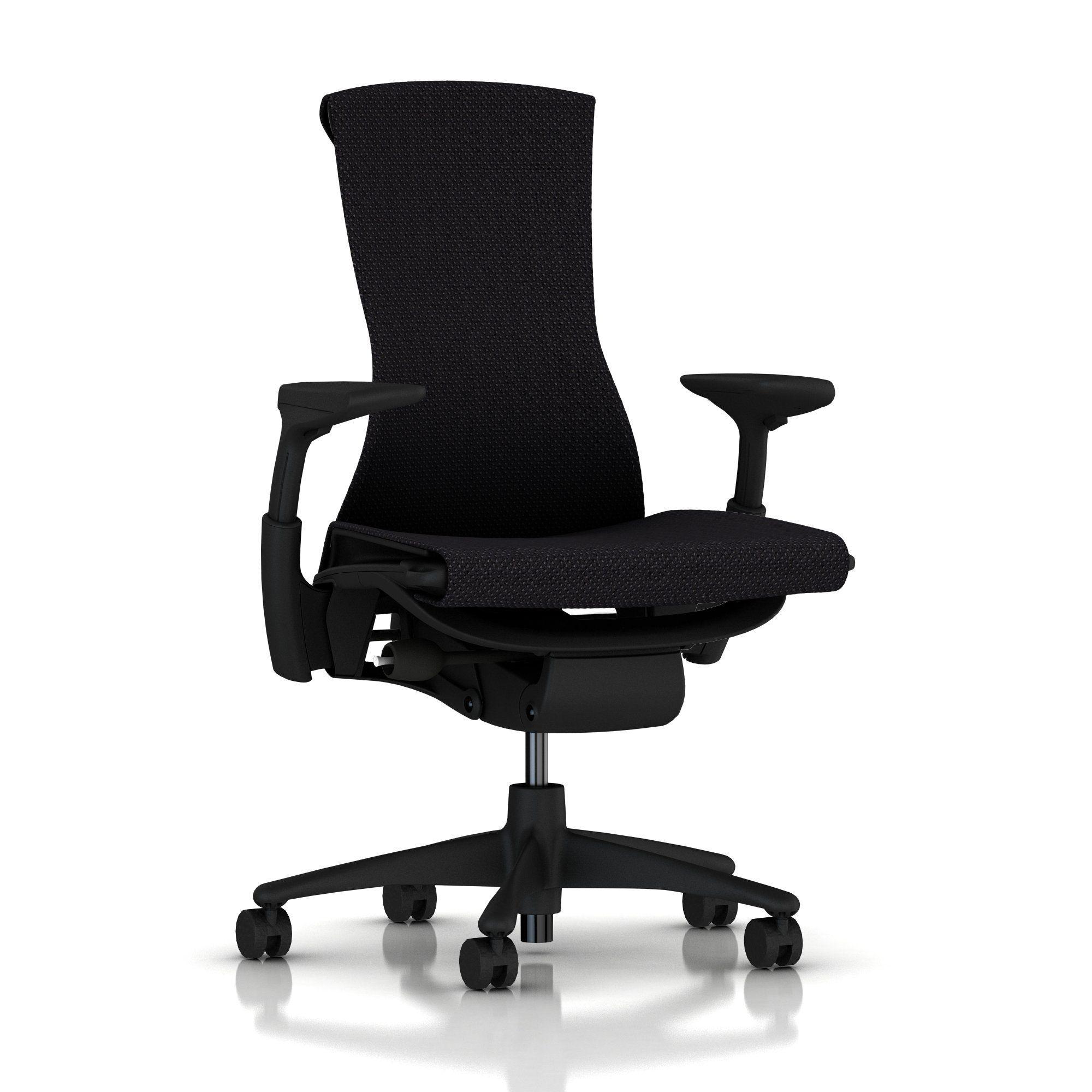 Embody Chair By Herman Miller Fully Adjustable Arms Black