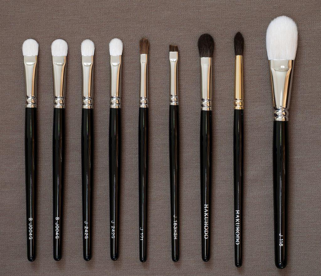 hakuhodo eyeshadow brush comparison Google Search