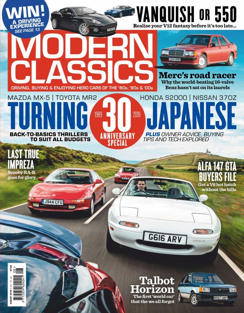 Modern Classics Back Issue August 2019 Digital In 2020 Modern Classic Classic Automotive Photography